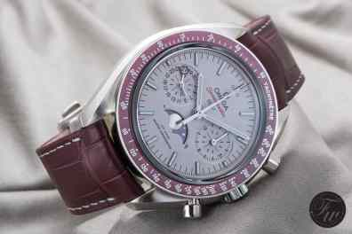 Omega Speedmaster Moonphase Platinum LE1006